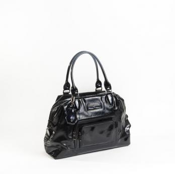 LONGCHAMP - Sac Légende en cuir vernis noir - Fashion & Haute ...
