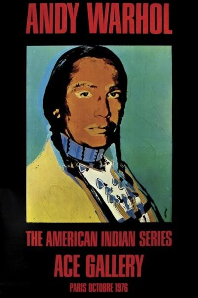 Andy WARHOL - The American Indian Series, lithographie offset, 1976 2