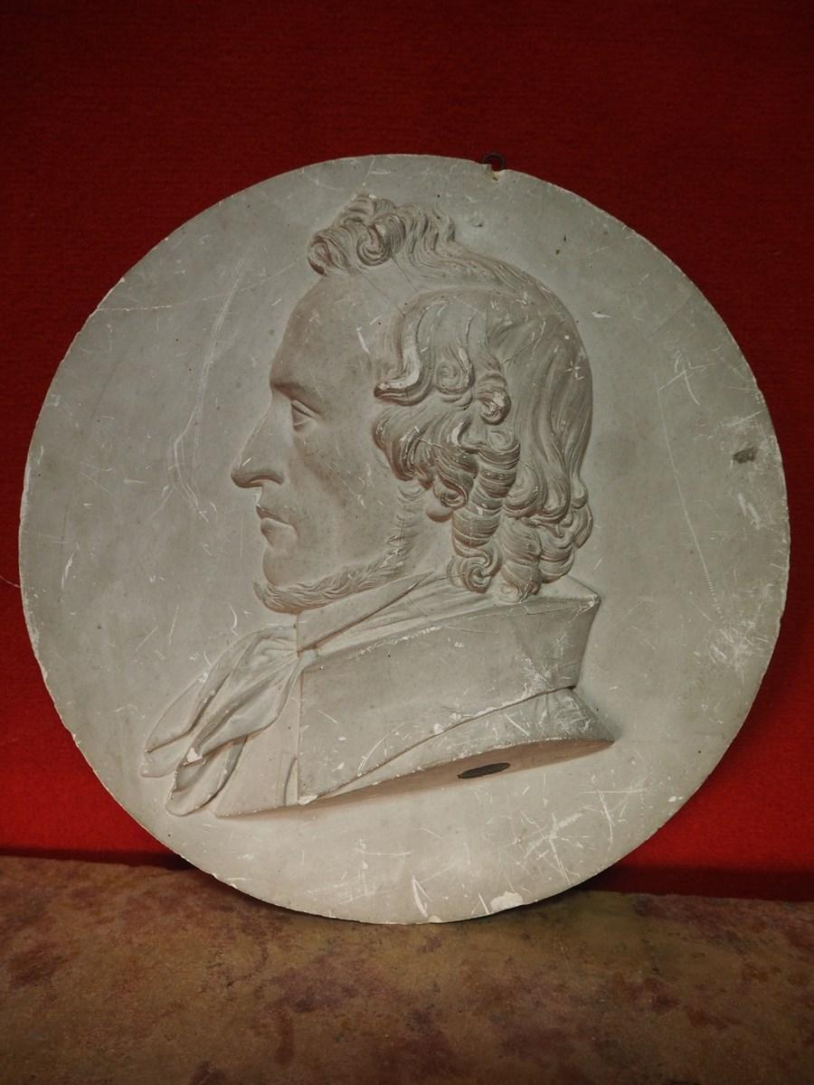 jean louis brian 1805 1864 portrait en bas relief d 39 un. Black Bedroom Furniture Sets. Home Design Ideas