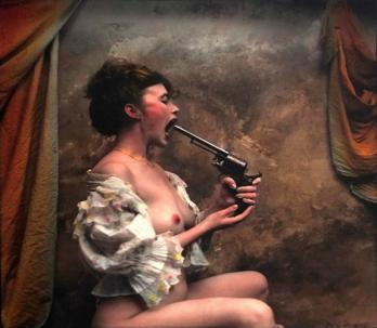 Jan SAUDEK - Jana's Suicidal Tendencies, 1995, Photographie signée