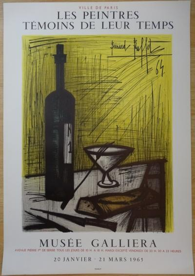 Bernard BUFFET - Bread and Life, lithographic poster