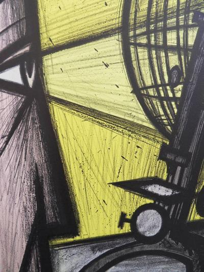 Bernard BUFFET - Lithographie : La Science / Le Microscope 5