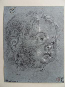 Albrecht DÜRER (After) - Child in profile, lithograph