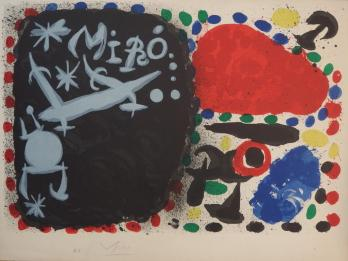 Joan MIRO - Japan 1966, signed lithograph
