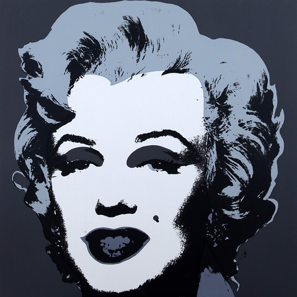 Andy warhol d 39 apr s marilyn 10 screenprints art for Andy warhol famous paintings
