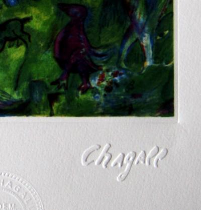 Marc Chagall (1887-1985) Arabian Nights, lithographie, tirage 2