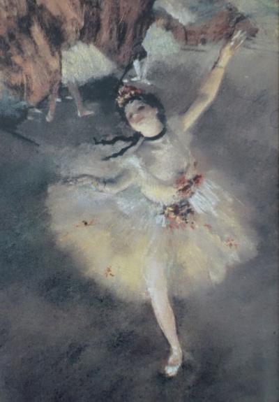 Edgar DEGAS (d'après) : Ballerine, l'Etoile - Sérigraphie signée - Art  Moderne - Plazzart