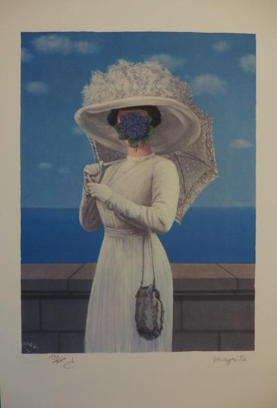 René MAGRITTE (1898-1967) - The Great War, Lithograph