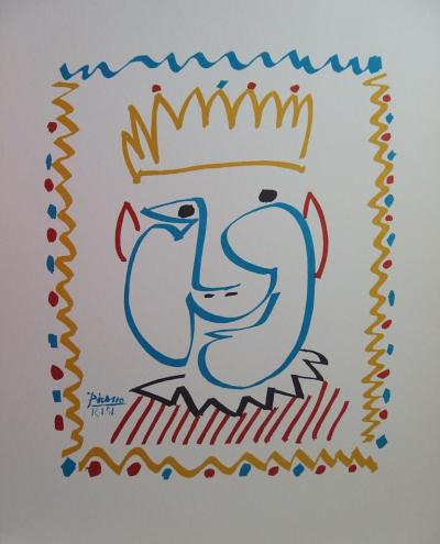 Pablo PICASSO - Carnival: the King, signed lithograph