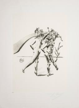 Salvador DALI, The Dance, from the series The Arts, lito-screen printing, 70x50 cm 1