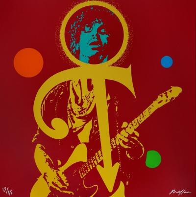 Ivan MESSAC - Prince, The Love Symbol, signed screenprint