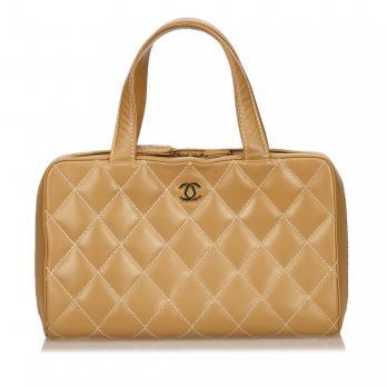 Chanel Sac Matelasse Cuir Agneau Mode Accessoires Lotprive Com