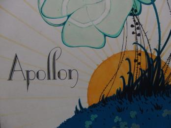 ART DECO : Apollon, Aquarelle originale (c.1920/30) 3