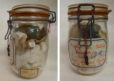 ARMAN - « Ordures au naturel, 2 novembre 1972 », Waste in a jar