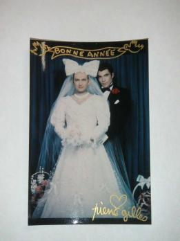 PIERRE & GILLES - Newlyweds (Pierre et Gilles), Signed photograph