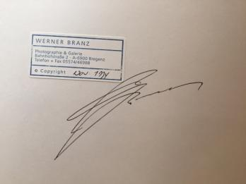 Werner BRANZ - The Spot, Photolithographie signée 2