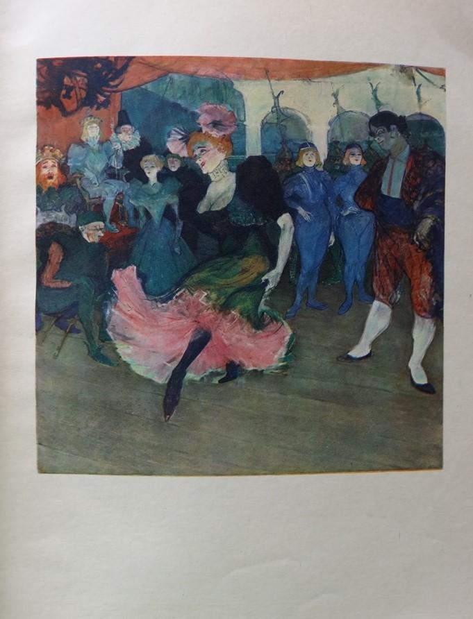 eb4ef1d3435 Henri de TOULOUSE-LAUTREC (d après) - Danseuse de variété ...