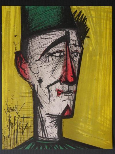 Bernard BUFFET - Jojo le clown, 1967 - Lithographie originale