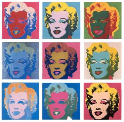Andy WARHOL (after) - Series of 10 Marilyn Monroe, 1967 - Silskcreen
