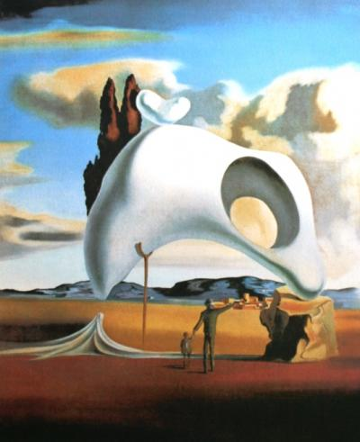 Salvador DALI  (1904-1989) (d'après) - Honey is sweeter as blood, 1988, Lithographie