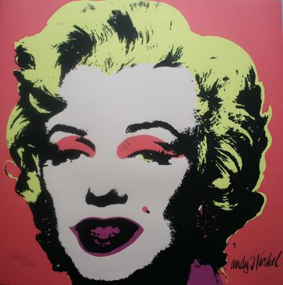 Andy WARHOL (d'après) - Marilyn Monroe (1967), Granolithographie