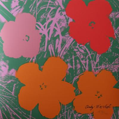 Andy WARHOL (after) - Flower (1967), Granolithograph
