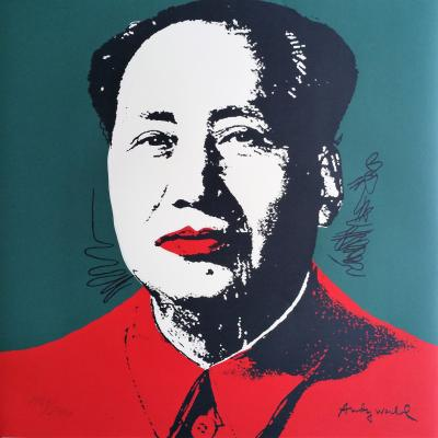 Andy WARHOL (d'après) - Mao (1967), Granolithographie