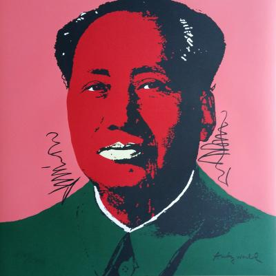 Andy WARHOL (after) - Mao (1967), Granolithograph