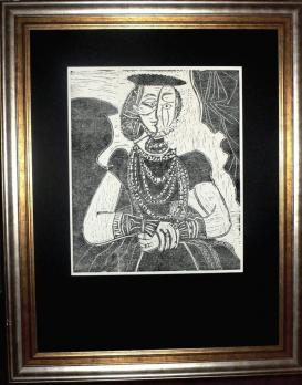 Pablo PICASSO (1881-1973) (after) Portrait of a Woman after Cranach the Younger 1958 2