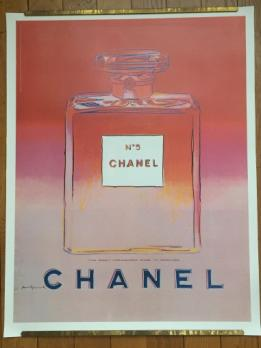 ANDY WARHOL - Chanel No5 rouge/rose 1