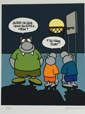 Philippe Geluck - Le chat. Basket, 2007 2