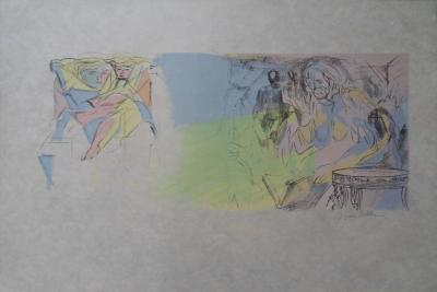 Jacques Villon : Pollion, lithographie originale, signée 33