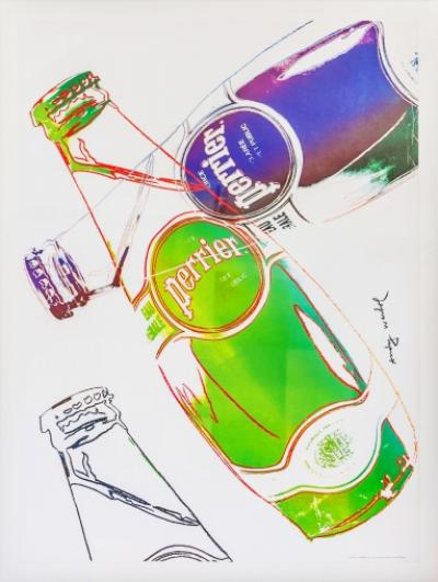 ANDY WARHOL (after) - PERRIER Poster
