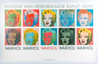 ANDY WARHOL (after) - Marilyn Monroe poster