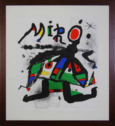 Joan Miro (1893-1983) COMPOSITION Lithographie  63x54