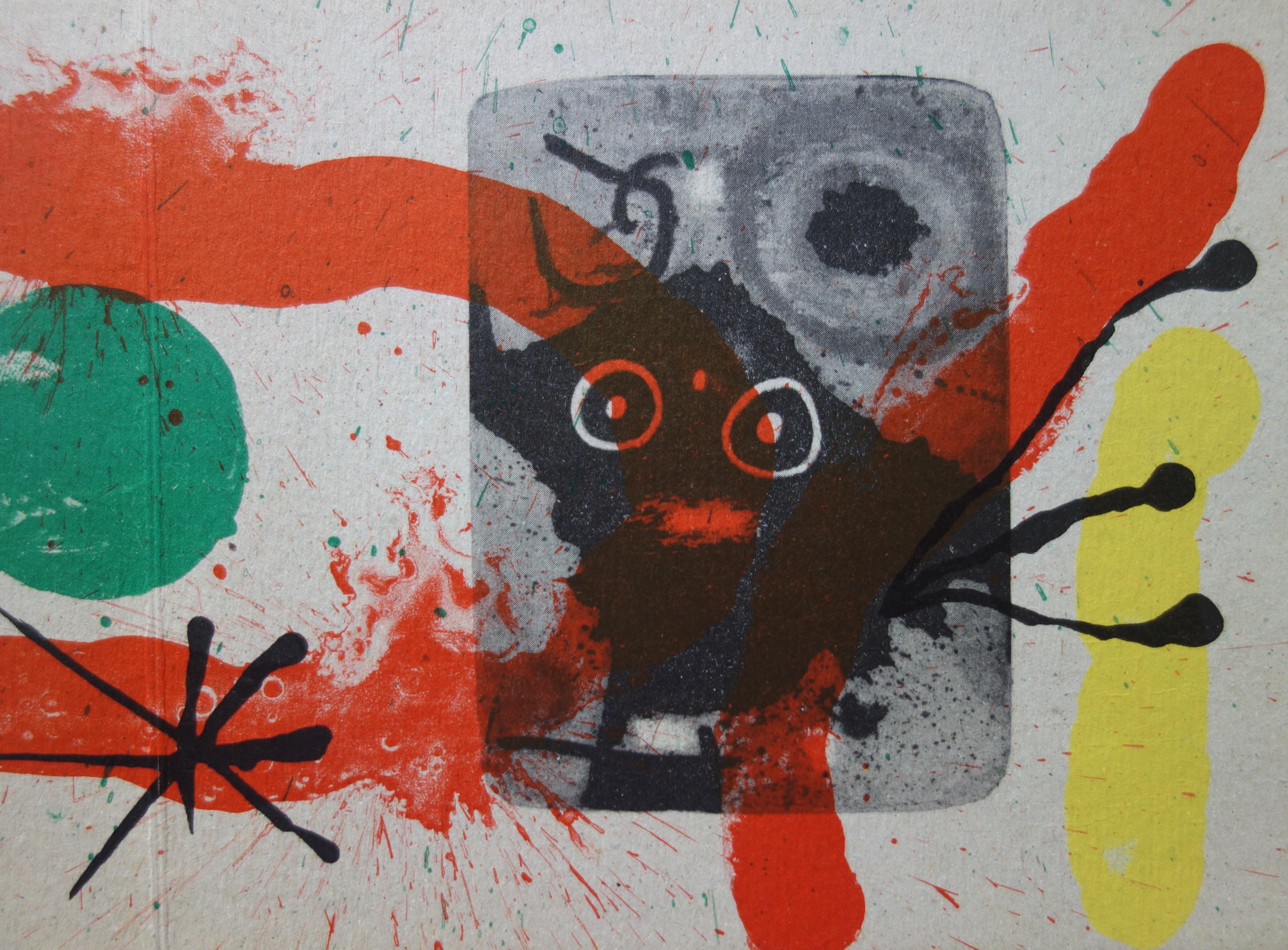Joan Miro Cardboards 1965 Post War Modern Art