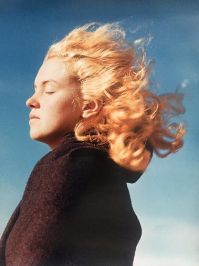 André de Dienes - Marilyn in the wind (1946)