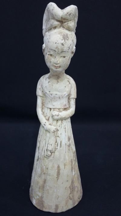 China, SUI Dynasty. Court lady