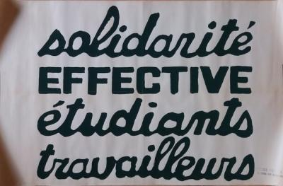 Beaux-Arts workshop - Solidarity/Effective/Students/Workers