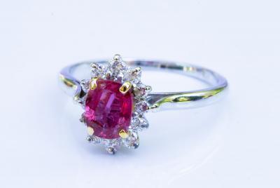 bague diamant 0.9 carat