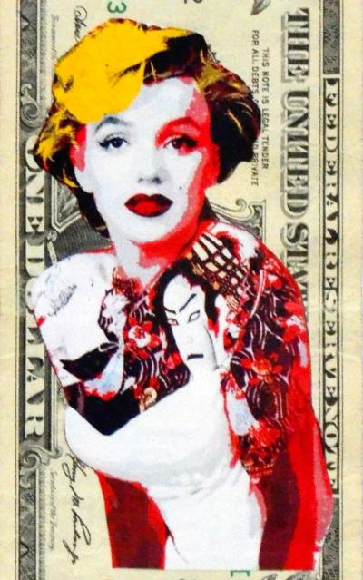 Death nyc marilyn tattoo 1 banknote dat 2013 et for Unique dates in nyc