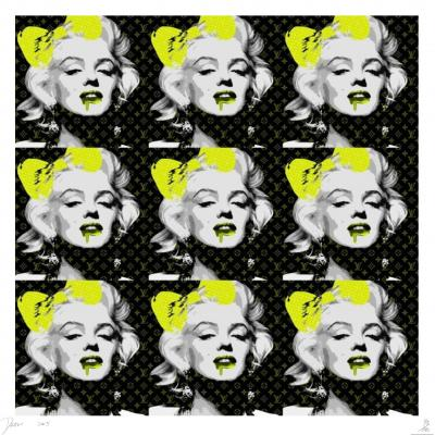 Death NYC - 9 Monroe Yellow - Original screenprint signed and numbered - (Edition limited of 100 proofs)