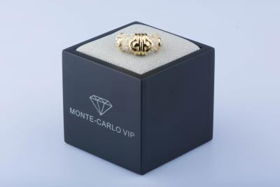 Bague en or jaune 18 ct / Total Carat Diamants: 1,32 ct 2