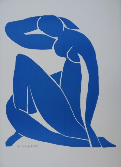 Henri MATISSE (1869-1954) - Blue Nude, lithograph