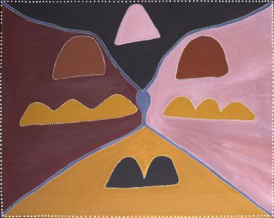 Aboriginal painting, Betty CARRINGTON,