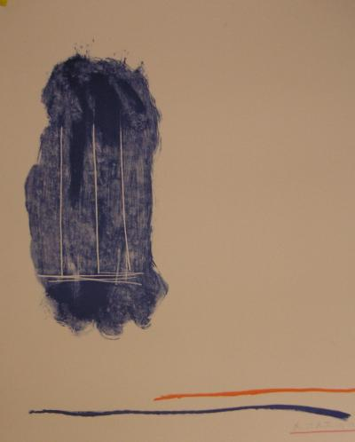 Robert  MOTHERWELL - For St Gallen, 1971 - Lithographie originale signée au crayon