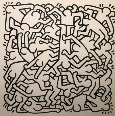 Keith HARING (USA, 1958-1990) - Screenprint signed and numbered in pencil