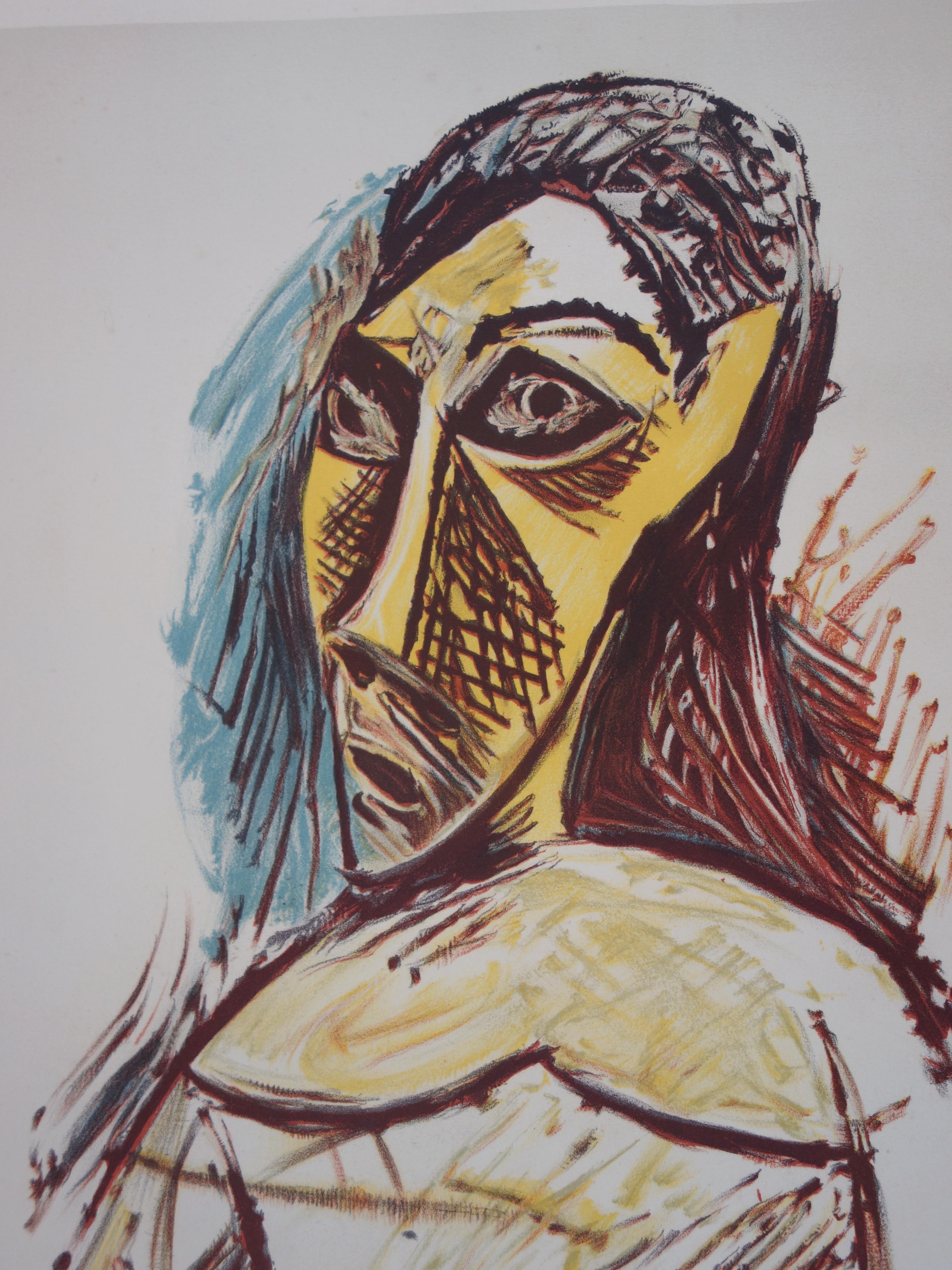 1dc3af4ab49 Pablo PICASSO (after) - Portrait of a woman