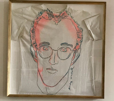Andy WARHOL - Keith Haring, circa 1986 - Sérigraphie