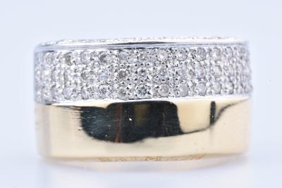 0 Jaune 18 Bague À Balmain Ct750100048 En Diamants Env Or 57 nP0wkONX8